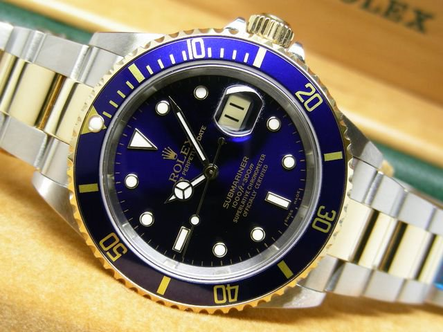 newest 9e60b 01ee8 ロレックス 青サブ・コンビ Ref.16613 Y番 - 腕時計専門店THE ...