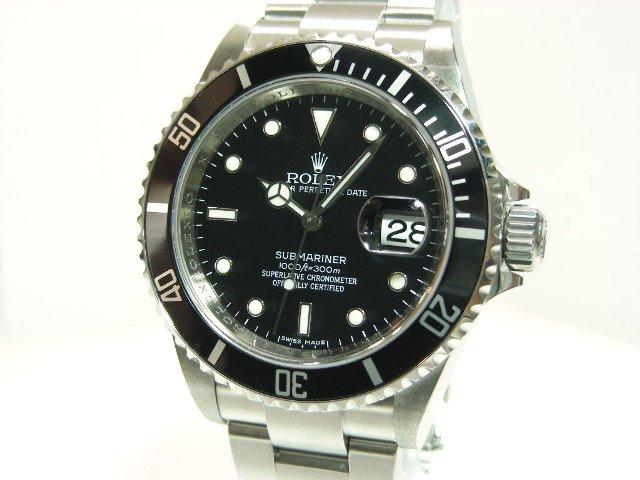 brand new b4c70 67453 ロレックス サブマリーナーデイト 16610 ランダム番 - 腕時計 ...