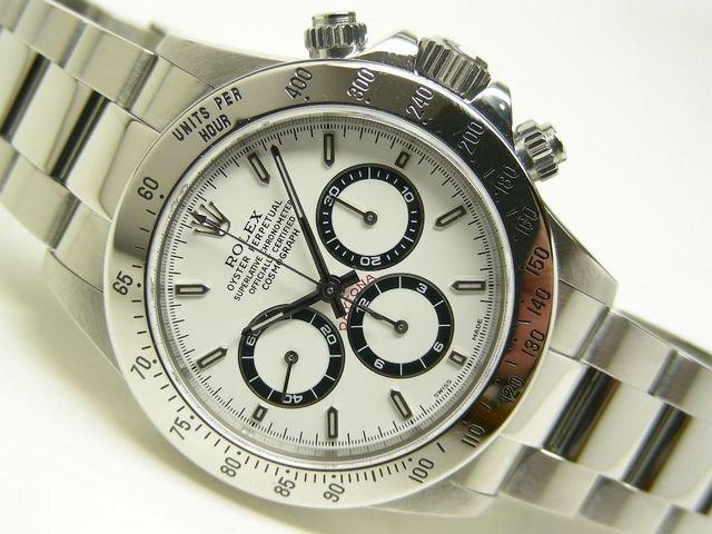 size 40 732f7 7c97a ロレックス デイトナ・エルプリメロ 白 16520 A番 - 腕時計専門 ...