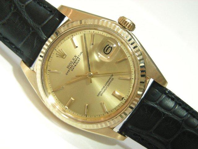 huge selection of b2d47 3f226 ロレックス デイトジャスト18KYG REF.1601/8 '73年製 - 腕時計 ...