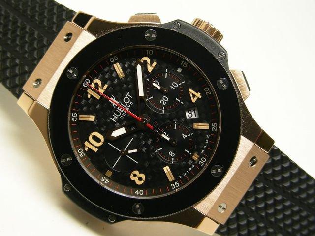 best wholesaler c5f64 09599 ウブロ ビッグバン 18KPG 黒セラミック 正規品 - 腕時計専門店 ...