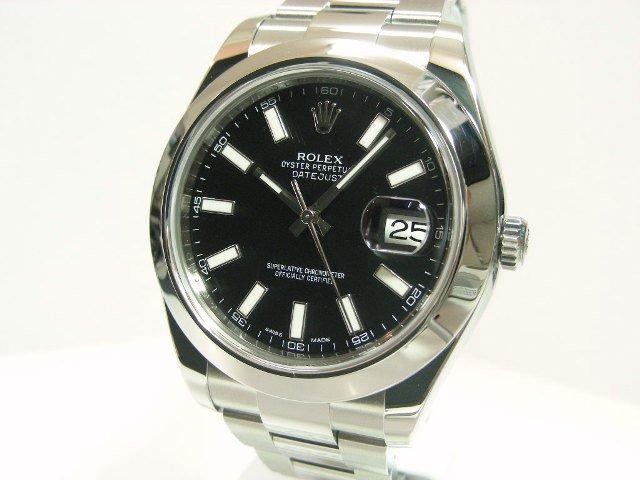 huge selection of eea59 6e71a ロレックス デイトジャストII 2012年新作 116300 - 腕時計専門店 ...