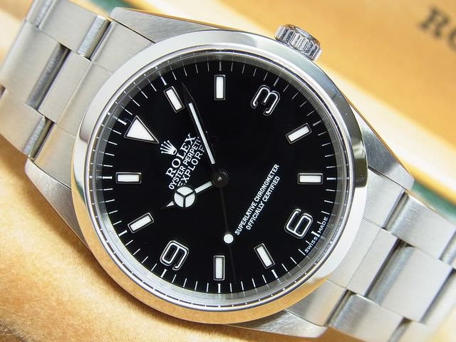 free shipping 78fe6 31a3d ロレックス エクスプローラーI Ref.14270 P番 - 腕時計専門店THE-TICKEN(ティッケン) オンラインショップ