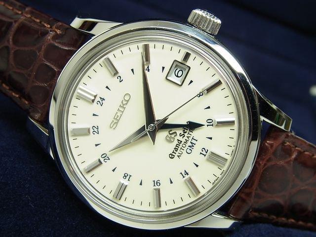 グランドセイコー メカニカル・GMT アイボリー SBGM003