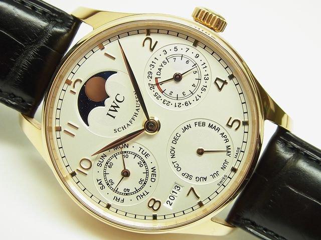 finest selection e0d62 d6b33 IWC ポルトギーゼ・パーペチュアルカレンダー PG 正規 - 腕時計 ...