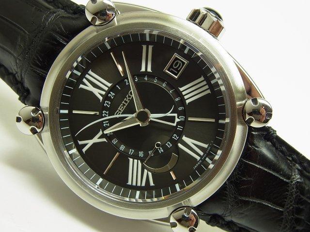 セイコー ガランテ GMT&パワーリザーブ SBLA033