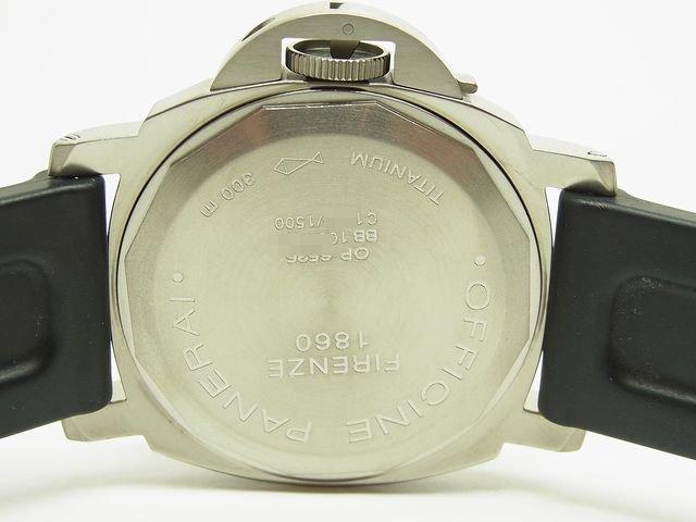 size 40 14f36 3d29f パネライ ルミノール・ベース チタン Ref.PAM00055 C番 - 腕時計 ...