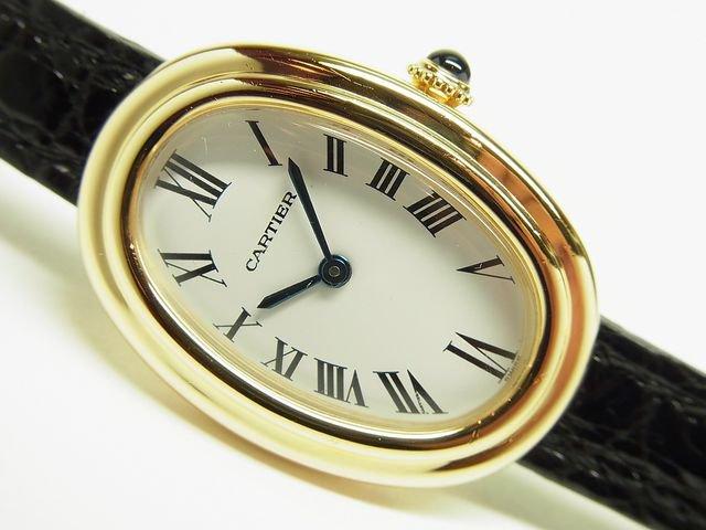 low priced 48190 be86a カルティエ ベニュワール1920 手巻 18KYG 生産終了 - 腕時計専門 ...