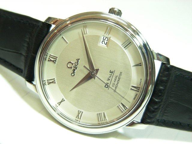 online store eec89 23c70 オメガ デ・ビル プレステージ コーアクシャル自動巻 - 腕時計 ...