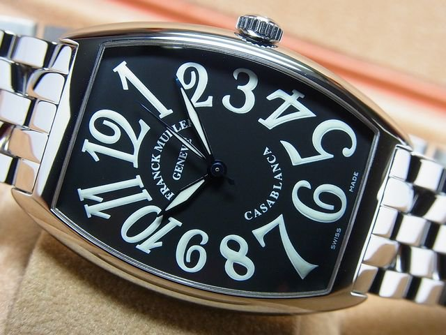 wholesale dealer 60e36 dac9a フランク・ミュラー カサブランカ ブレス ブラック Ref.6850 ...