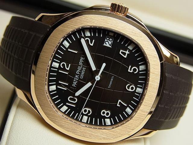 quality design 787d5 e728c パテック・フィリップ アクアノート・Tiffany 18KRG 5167R-001 ...