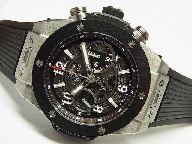 brand new 02d90 0ee2d ウブロ ビッグバン・ウニコ チタニウム CE 国内正規品 - 腕時計 ...