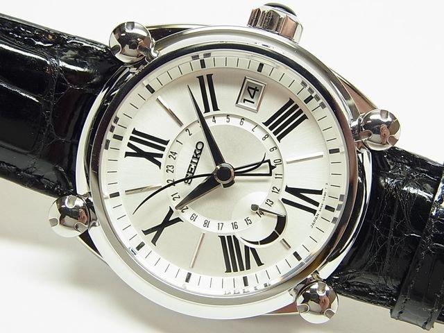 セイコー ガランテ・GMT&パワーリザーブ SBLA035