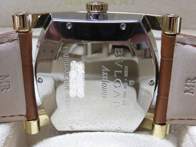 pretty nice 236b6 d1790 ブルガリ アショーマ 48mm コンビ ブレス/革ベルト 正規品 ...