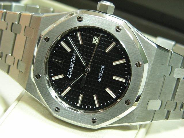 cheap for discount aaba8 edff4 オーデマ・ピゲ ロイヤルオーク 39MM ブラック 15300ST - 腕時計 ...