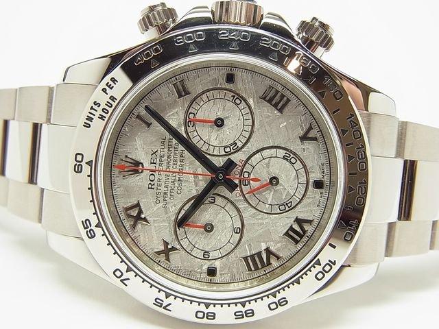 purchase cheap 48fc6 076a4 ロレックス デイトナ メテオライト 18KWG Ref.116509 Z番 - 腕時計専門店THE-TICKEN(ティッケン) オンラインショップ