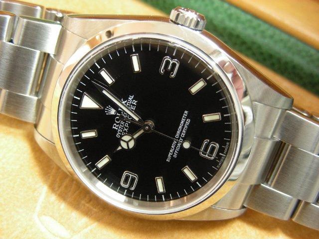 save off a4b34 b5445 ロレックス エクスプローラーⅠ 114270 2004年・F番 - 腕時計 ...