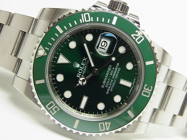 best authentic 1e7c6 49eb5 ロレックス グリーンサブマリーナ 116610LV 正規品 ランダム - 腕時計専門店THE-TICKEN(ティッケン) オンラインショップ