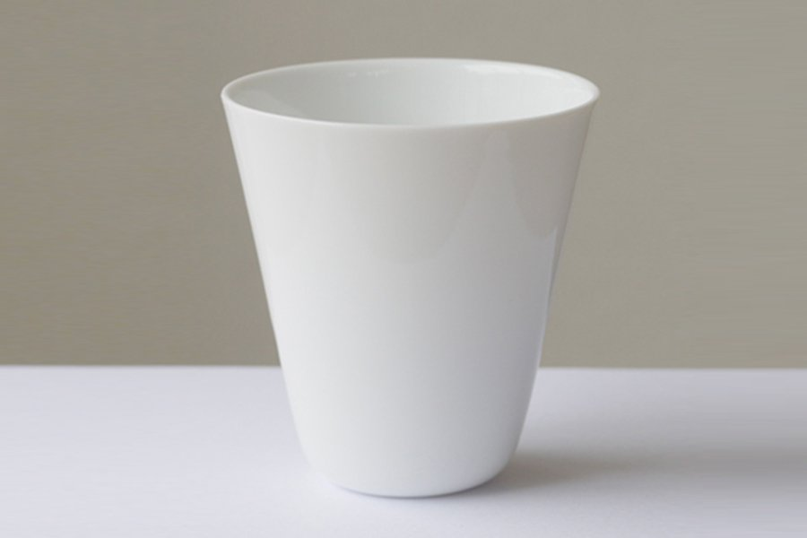 donut coffee dripper<br>porcelain (white) 磁器のみ