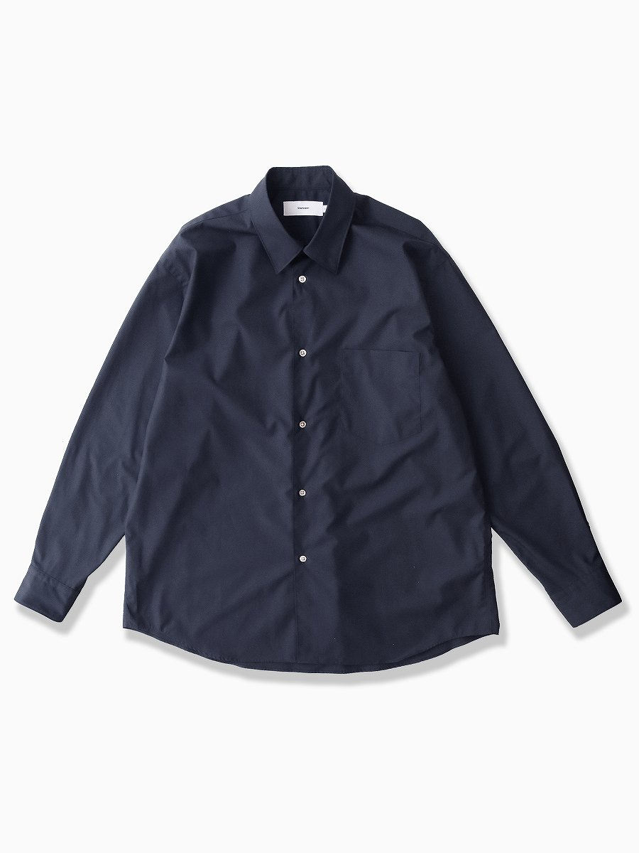 <img class='new_mark_img1' src='//img.shop-pro.jp/img/new/icons47.gif' style='border:none;display:inline;margin:0px;padding:0px;width:auto;' />BRAND : Graphpaper<br>MODEL : REGULAR COLLAR SHIRT<br>COLOR : NAVY