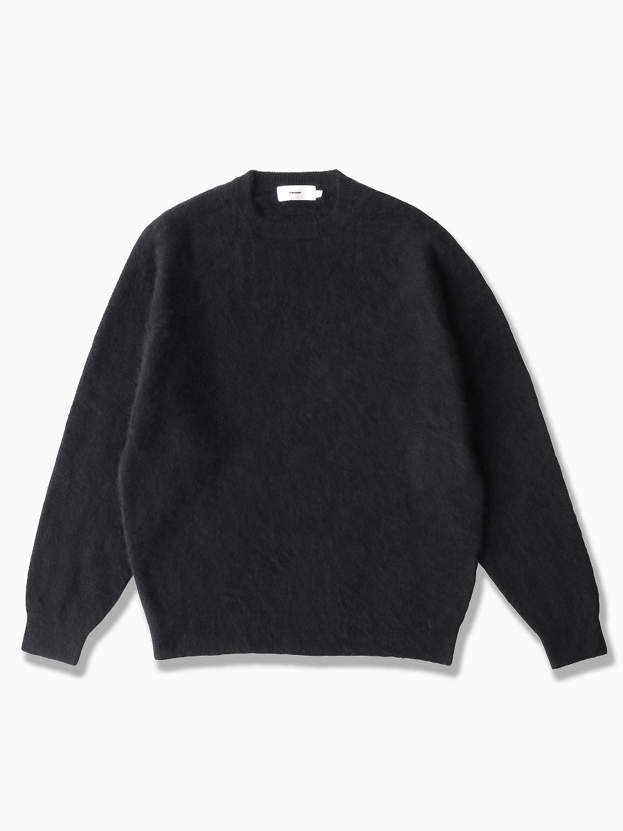 <img class='new_mark_img1' src='https://img.shop-pro.jp/img/new/icons47.gif' style='border:none;display:inline;margin:0px;padding:0px;width:auto;' />BRAND : Graphpaper<br>MODEL : CASHMERE CREW NECK KNIT<br>COLOR : BLACK