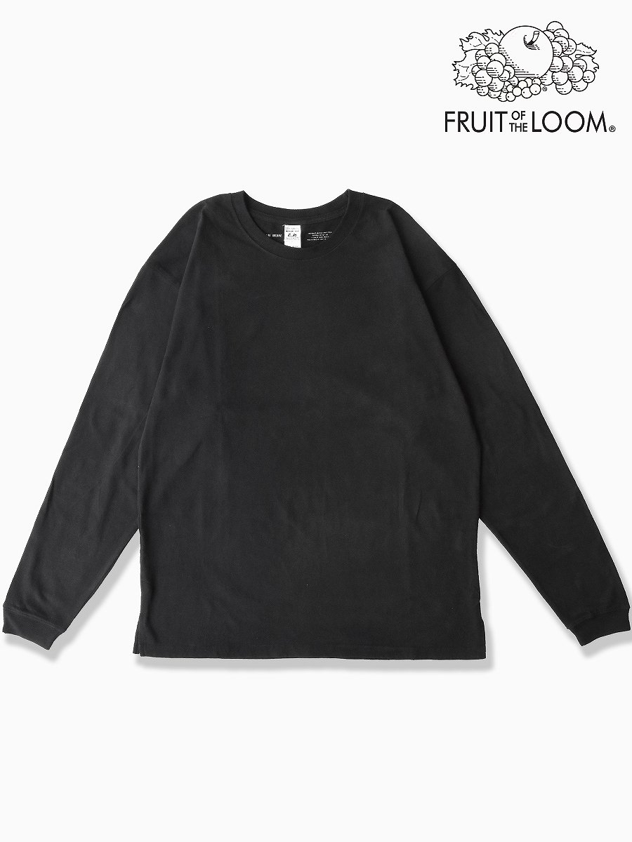 BRAND : VAINL ARCHIVE <br>CONNECTED : FRUIT OF THE ROOM<br>MODEL : L/S TEE <br>COLOR : BLACK