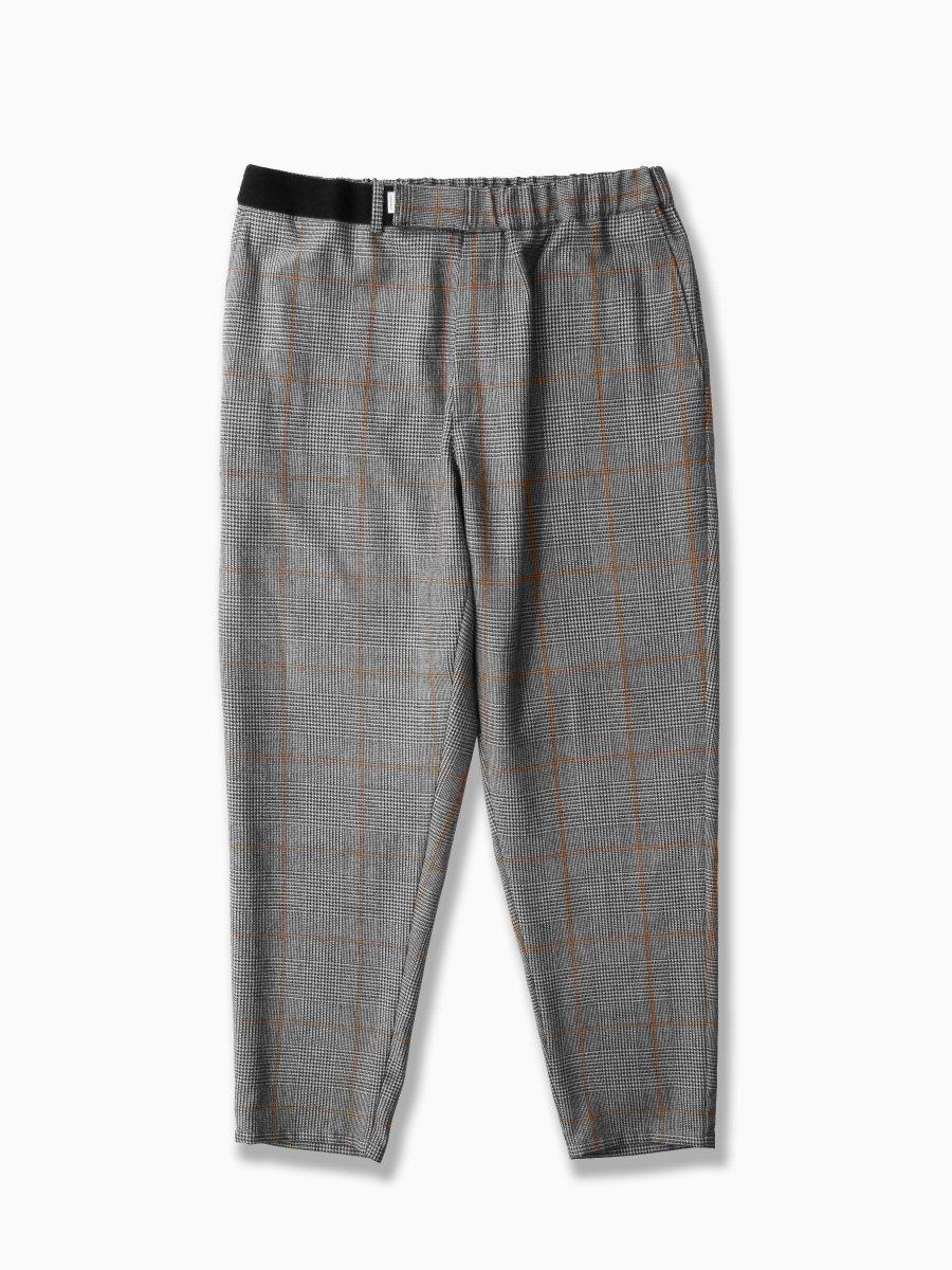 BRAND : Graphpaper<br>MODEL : GLENCHECK WOOL COOK PANTS<br>COLOR : GLENCHECK
