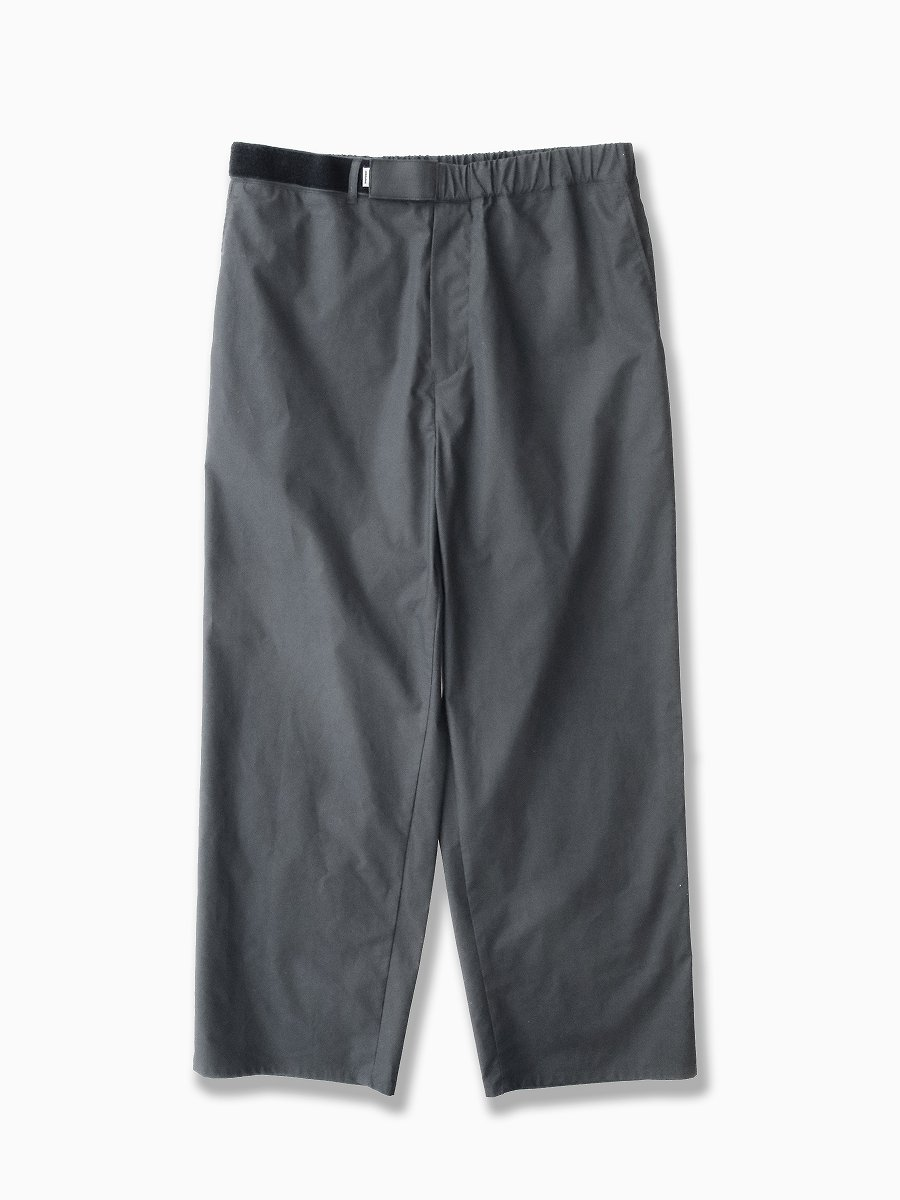 BRAND : Graphpaper<br>MODEL : TYPEWRITER WIDE COOK PANT<br>COLOR : GRAY