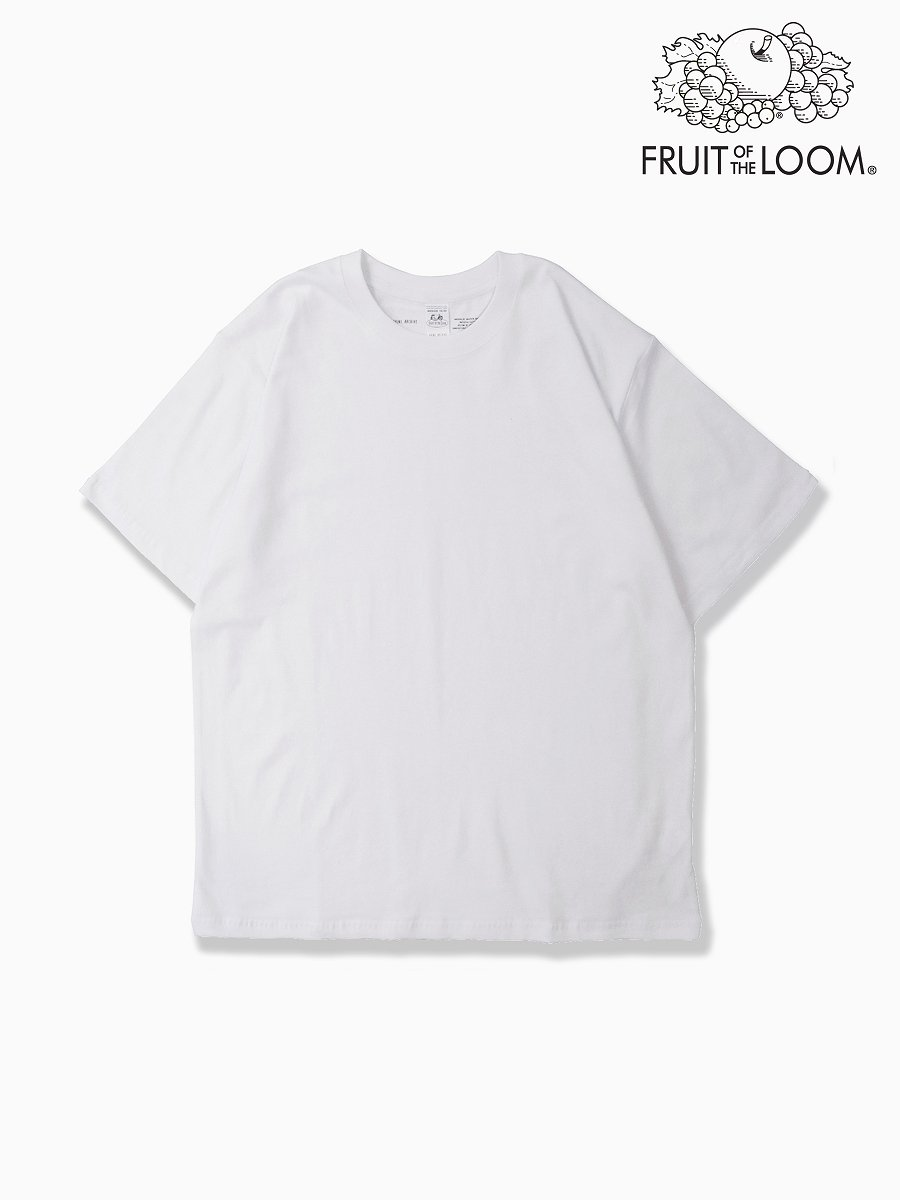 BRAND : VAINL ARCHIVE<br>CONNECTED : FRUIT OF THE ROOM<br>MODEL : SS TEE<br>COLOR : WHITE