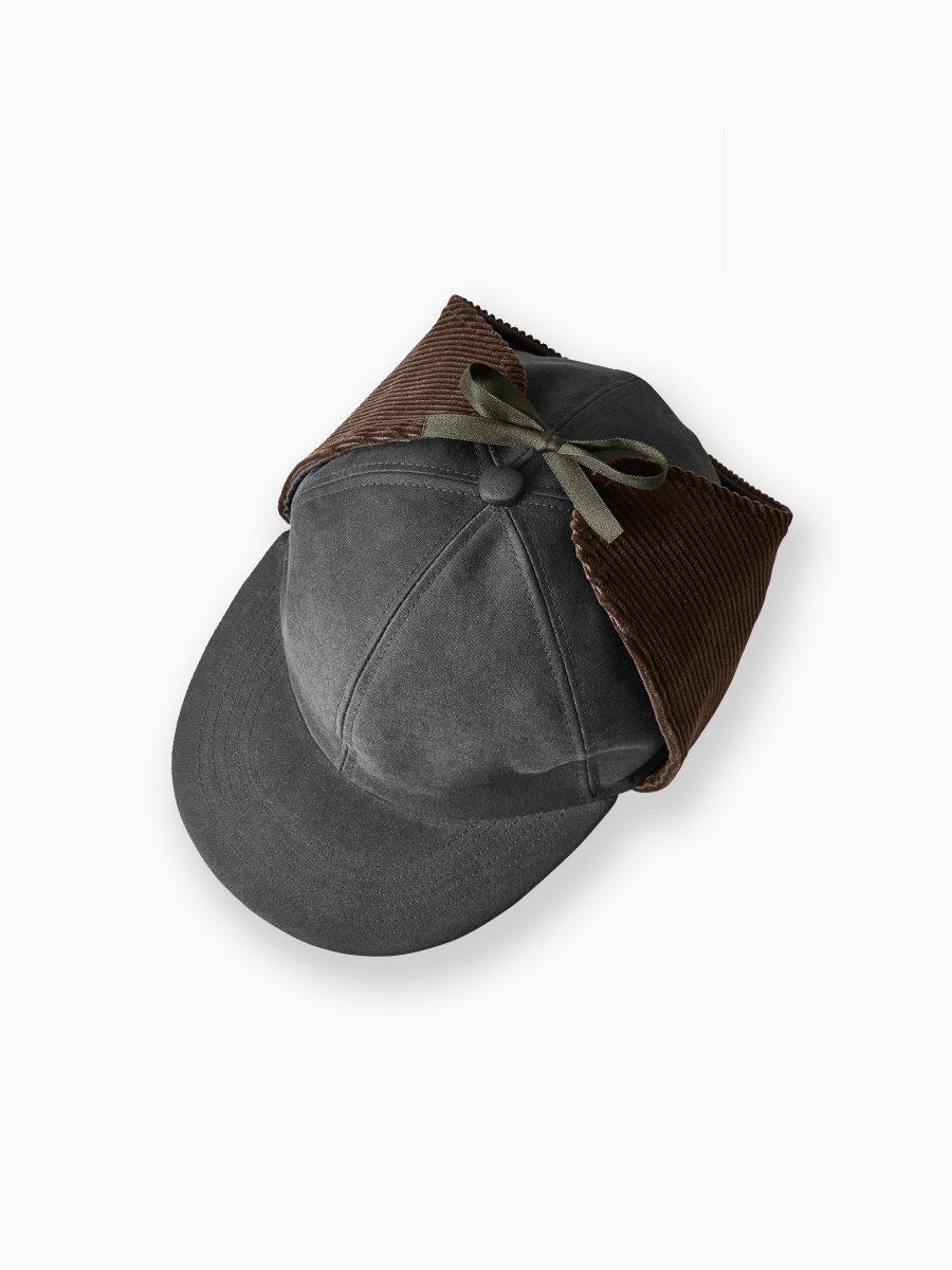 BRAND : PHIGVEL<br>MODEL : EAR HUNTING CAP (MOLESKIN)<br>COLOR : SEPIA BROWN
