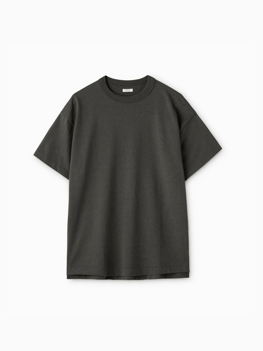 BRAND : PHIGVEL<br>MODEL : OLD ATHLETIC SS TOP<br>COLOR : SEPIA GRAY
