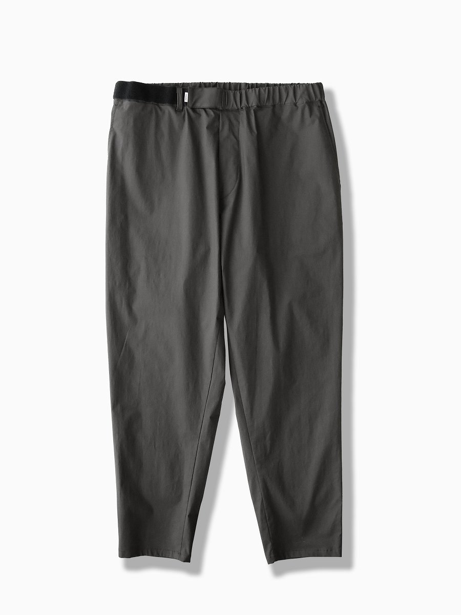 BRAND : Graphpaper<br>MODEL : STRETCH TYPEWRITER CHEF PANTS<br>COLOR : GRAY
