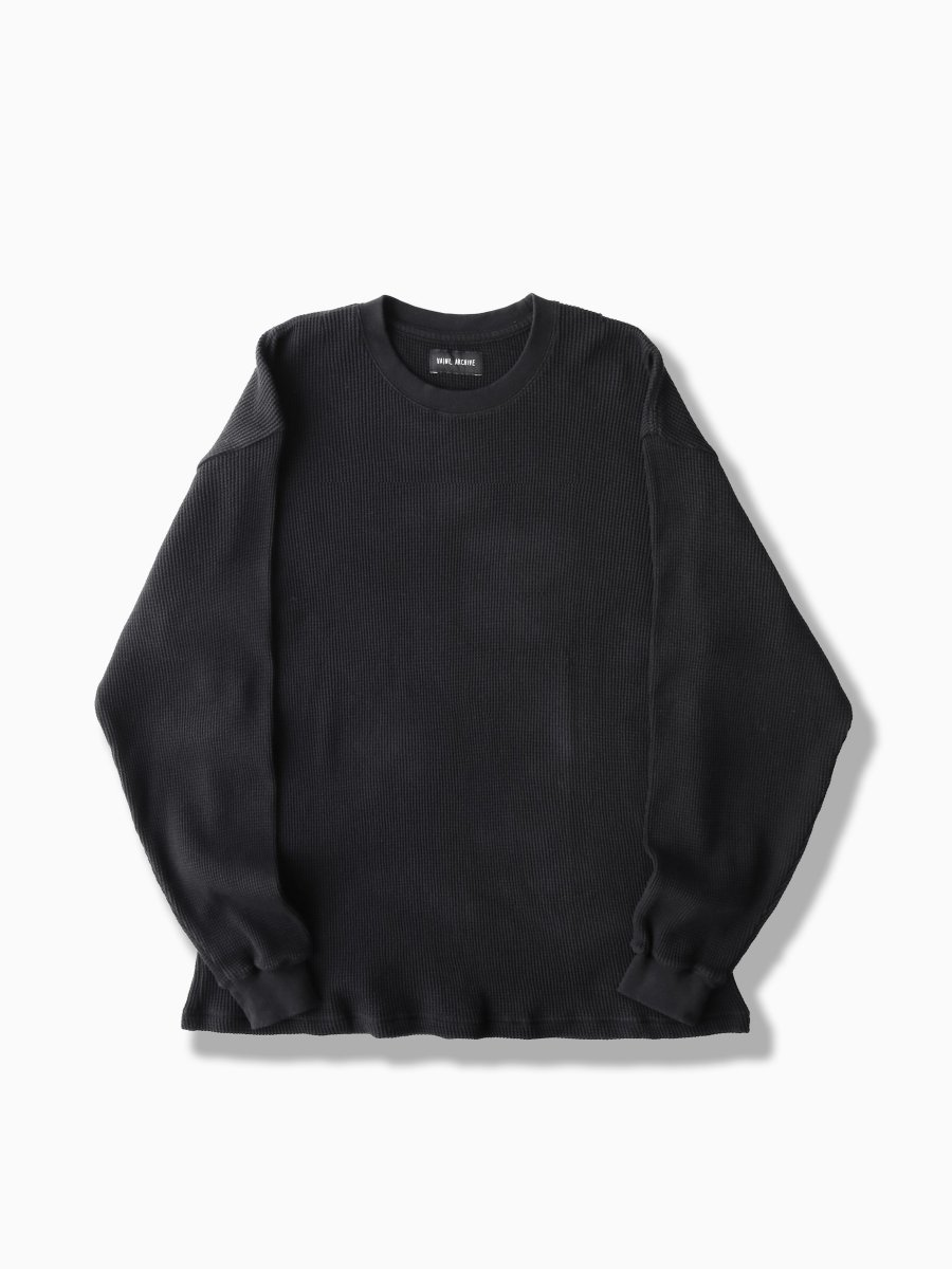 BRAND : VAINL ARCHIVE<br>MODEL : BASIC-WLS<br>COLOR : BLACK