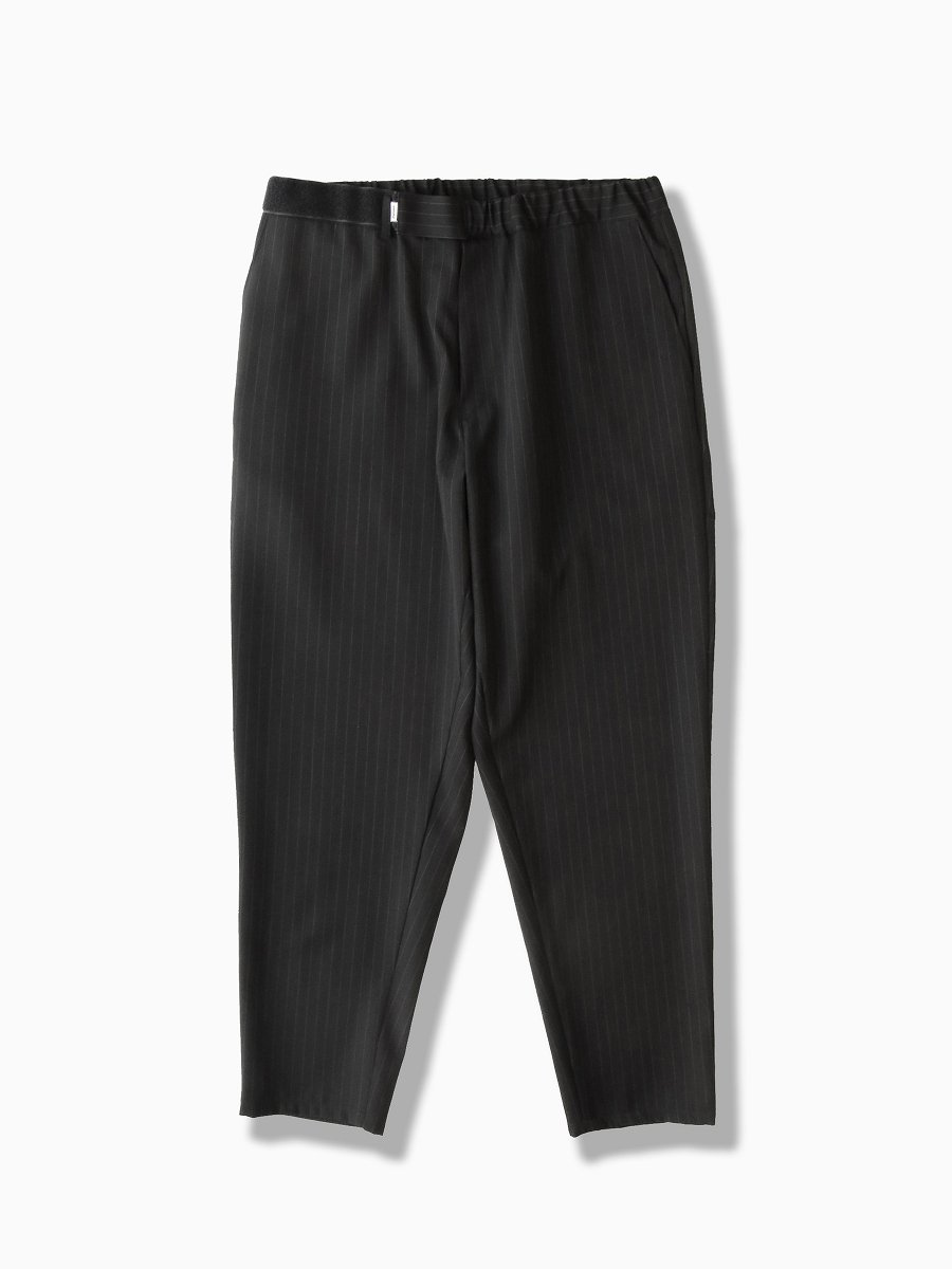 BRAND : Graphpaper<br>MODEL : SELVAGE WOOL CHEF PANTS<br>COLOR : BLACK ST