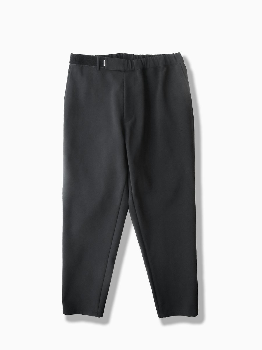BRAND : Graphpaper<br>MODEL : TRIPLE CLOTH CHEF PANT<br>COLOR : BLACK