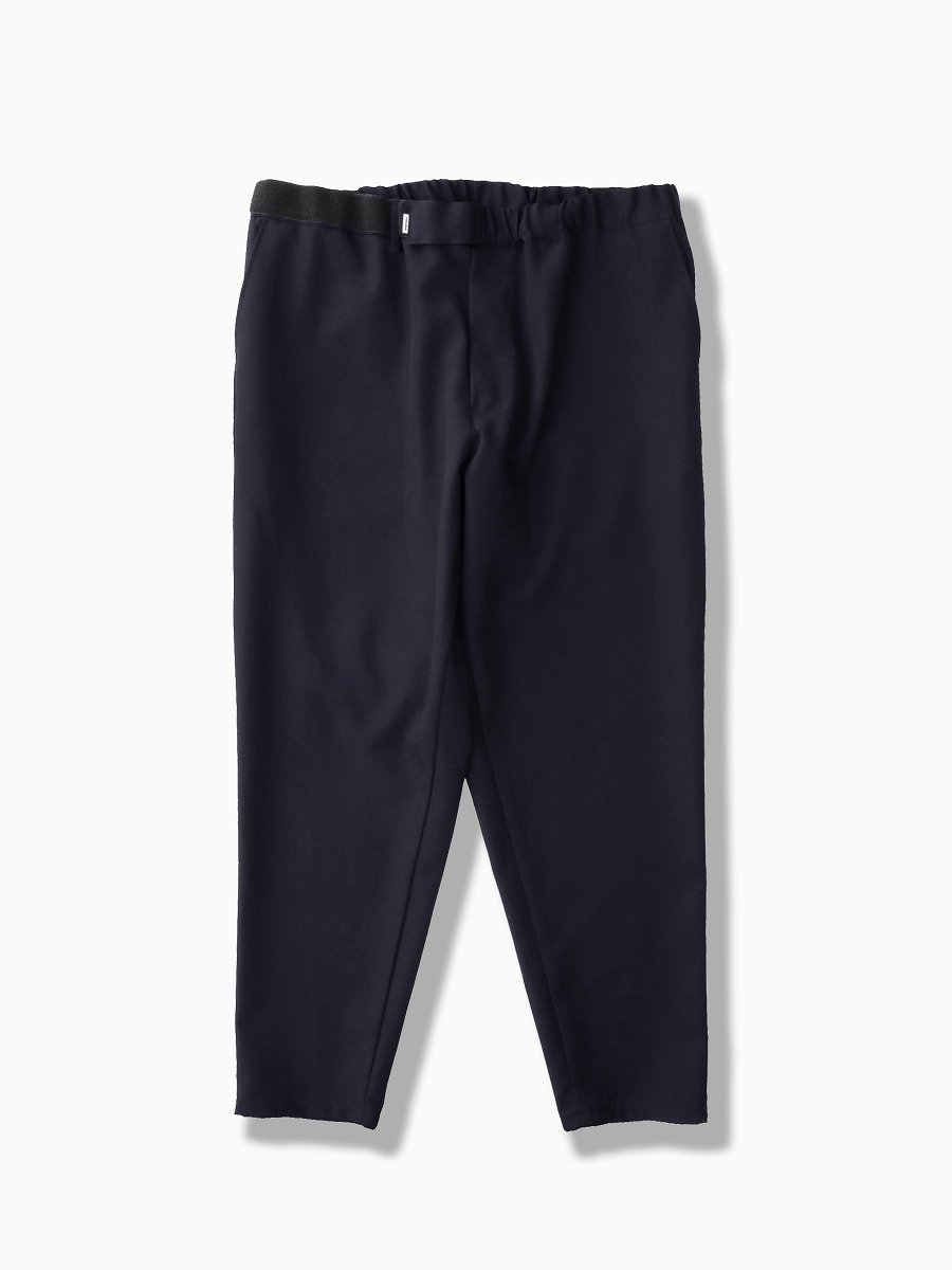 BRAND : Graphpaper<br>MODEL : SELVAGE WOOL CHEF PANTS<br>COLOR : NAVY