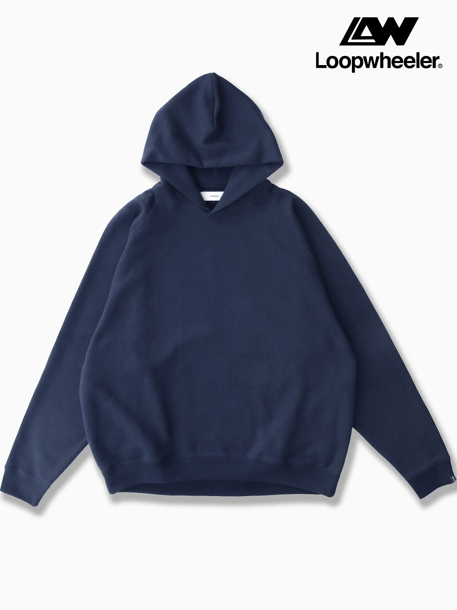 BRAND : Graphpaper<br>CONNECTED : LOOPWHEELER<br>MODEL : SWEAT PARKA<br>COLOR : NAVY