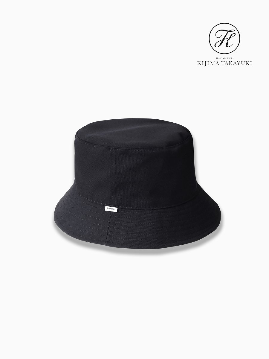 BRAND : Graphpaper<br>CONNECTED : KIJIMA TAKAYUKI<br>MODEL : SELVAGE WOOL BUCKET HAT<br>COLOR : NAVY