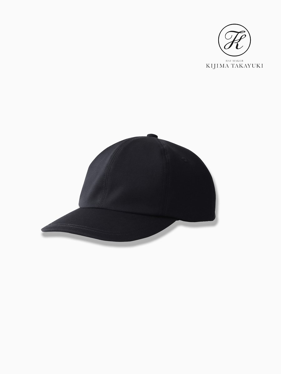 BRAND : Graphpaper<br>CONNECTED : KIJIMA TAKAYUKI<br>MODEL : SELVAGE WOOL 6 PANEL CAP<br>COLOR : NVY