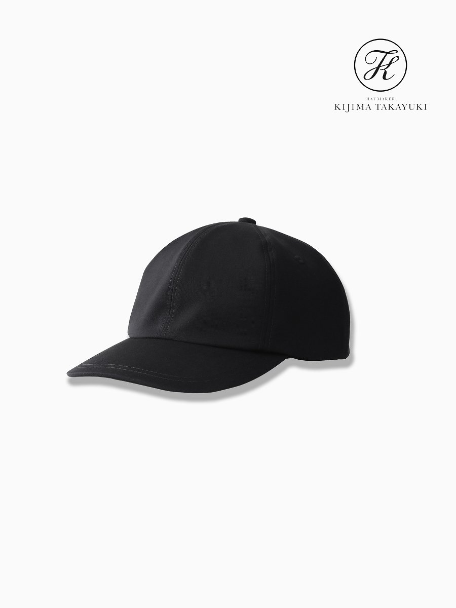 BRAND : Graphpaper<br>CONNECTED : KIJIMA TAKAYUKI<br>MODEL : SELVAGE WOOL 6 PANEL CAP<br>COLOR : BLK