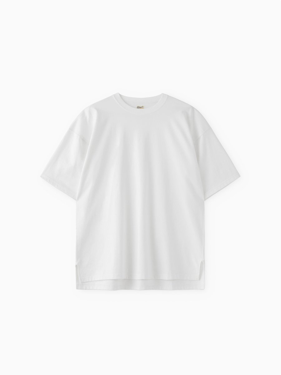 BRAND : PHIGVEL<br>MODEL : ATHLETIC SS TOP<br>COLOR : OFF WHITE