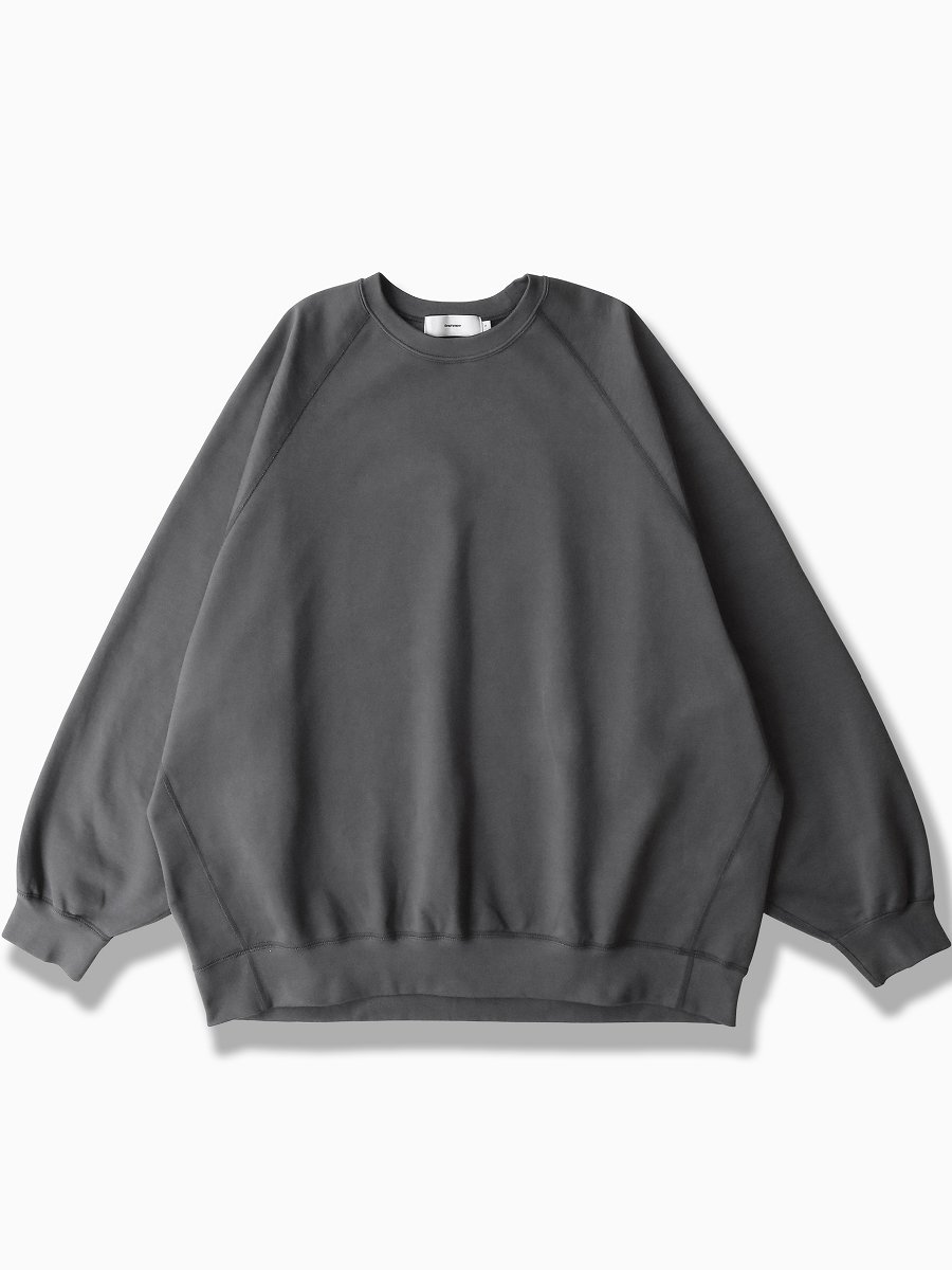 BRAND : Graphpaper<br>MODEL : COMPACT TERRY CREW NECK<br>COLOR :   C.GRAY
