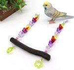 <img class='new_mark_img1' src='https://img.shop-pro.jp/img/new/icons13.gif' style='border:none;display:inline;margin:0px;padding:0px;width:auto;' />Jerry's Bird Toy〇オールステンレス備長炭ブランコ◆あげは