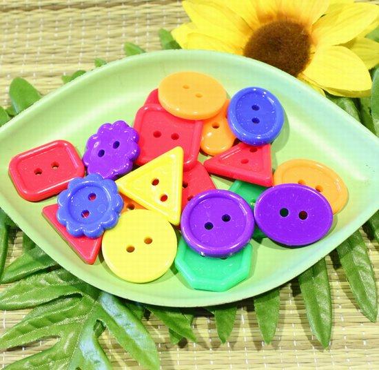 おもちゃのパーツ○ボタンビーズ(二個セット)