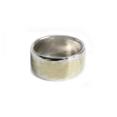 hirondelle et pepin(イロンデールエペパン) / k18 silver sr-11 プレートリング 11