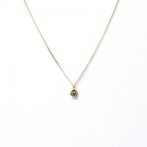 hirondelle et pepin(イロンデールエペパン) / k18 hn-474 ハートスタンプ ネックレス