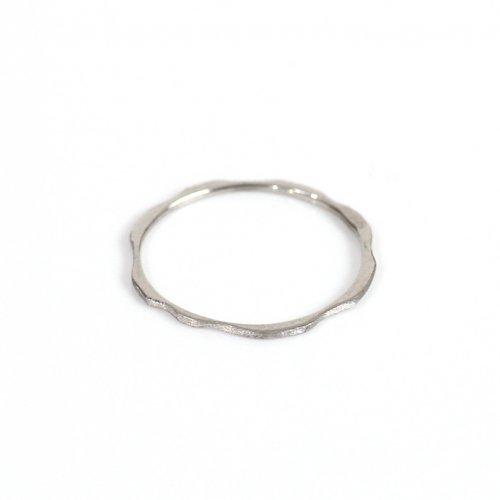 hirondelle et pepin(イロンデールエペパン) / pt900 pr-90 アメーバ プラチナリング S