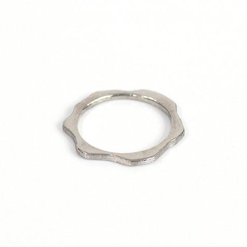 hirondelle et pepin(イロンデールエペパン) / pt900 pr-92 アメーバ プラチナリング L