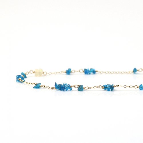 cocozelle / CON-08 apatite ネックレス / アパタイト
