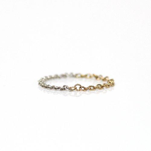 Perche?(ペルケ) / k18 silver loop half チェーンリング 1